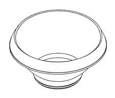 Popping and Serving Bowl for PowerPop® microwave multi-popper