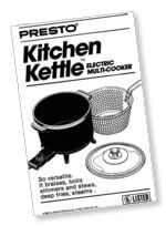 Kitchen Kettle™ Multi-Cooker/Steamer Instruction Manual