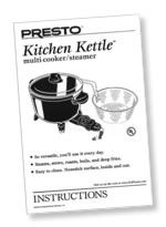 Kitchen Kettle™ multi-cooker Instruction Manual