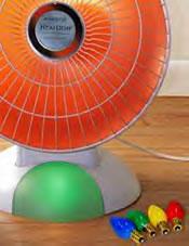 Footlight™ Base Colored Bulb Set