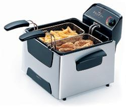 Stainless Steel Dual Basket ProFry™