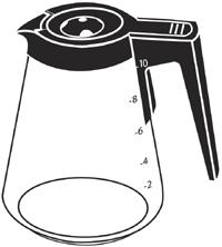Replacement Carafe for Scandinavian Design™ Coffee Maker