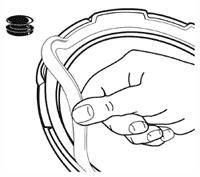 Sealing Ring/Overpressure Plug Pack for Pressure Cooker