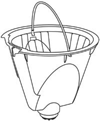 Filter Basket for Scandinavian Design™ Coffee Maker
