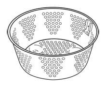 Multi-cooker Steam/Fry Basket