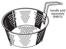 Multi-Cooker/Steamer basket with legs