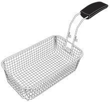 Basket Assembly with Handle for Presto® Digital ProFry™ deep fryer
