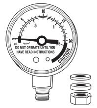 Steam Gauge for Pressure Canner