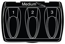 Medium Blade Guide for the Professional EverSharp™ Three-Stage Knife Sharpener