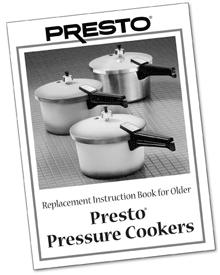 Pressure Cooker Instruction/Recipe Book
