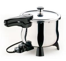 6-Quart Electric Stainless Steel Pressure Cooker