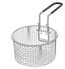 Basket with Handle for the Electric Stainless Steel Deep Fryer