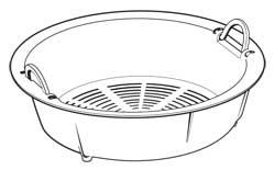 Steaming Basket for 8-Cup Electric Rice Cooker