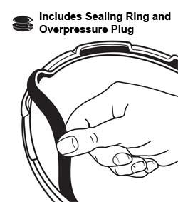 Sealing Ring/Overpressure Plug Pack