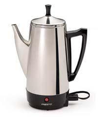 12-Cup Stainless Steel Coffee Maker