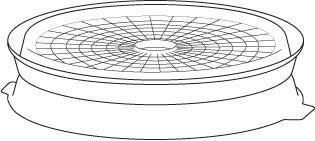 Dehydrator Nesting Tray