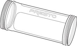Wide Chamber for the Presto® Jerky Gun