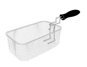 Basket/Handle Assembly for the Presto® 3.5 Liter ProFry™