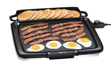 Cool-touch Electric Griddle/Warmer Plus