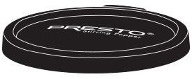 Black Lid for Presto® Stirring Popper Serving Bowl
