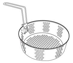 Basket and Handle Assembly for the Big Kettle™ Multi-Cooker/Steamer