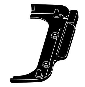 Right Base Frame for 22-inch Slimline™ Griddle
