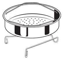 Stainless Steel Steamer Basket for 8 Quart Presto® Pressure Cookers