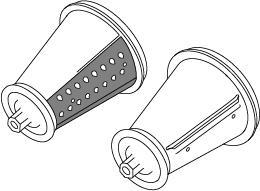 Cone Value Pack for the Presto® Professional SaladShooter® slicer/shredder