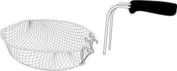 Basket Assembly for the Presto® ProFry™ Electric Rotisserie Turkey Fryer