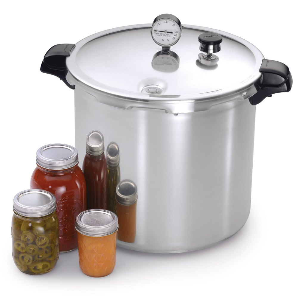 Presto pressure canner manual healthy canning.