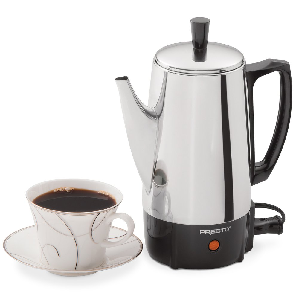 6-Cup Stainless Steel Coffee Maker