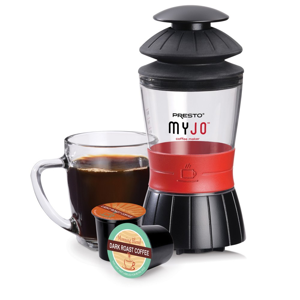 Single-cup MyJo® coffee maker
