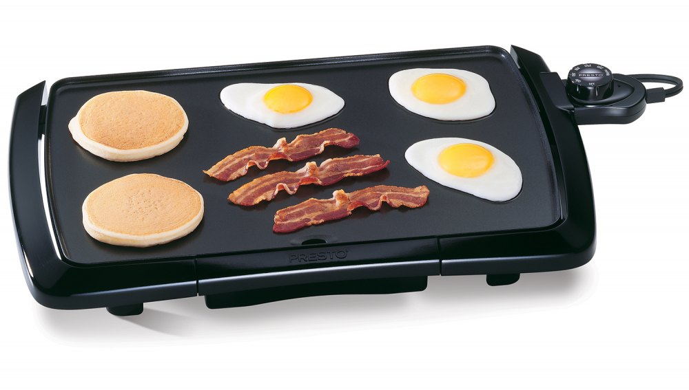 Cool-touch Electric Griddle