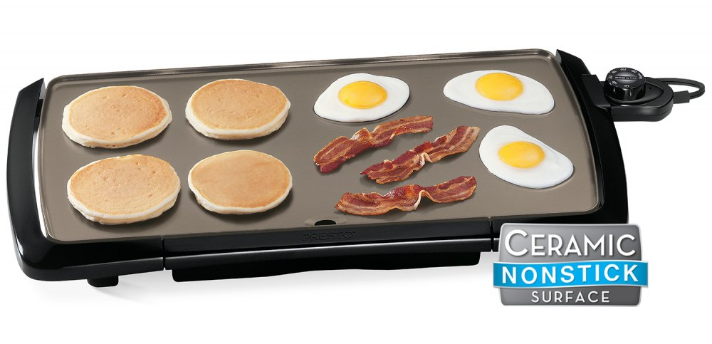 Cool-touch Ceramic Electric Griddle
