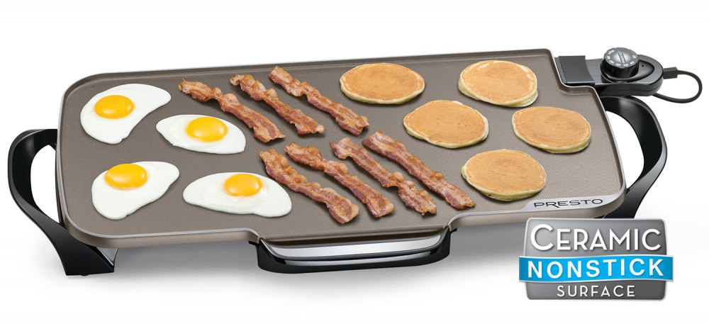 22-inch Ceramic Electric Griddle