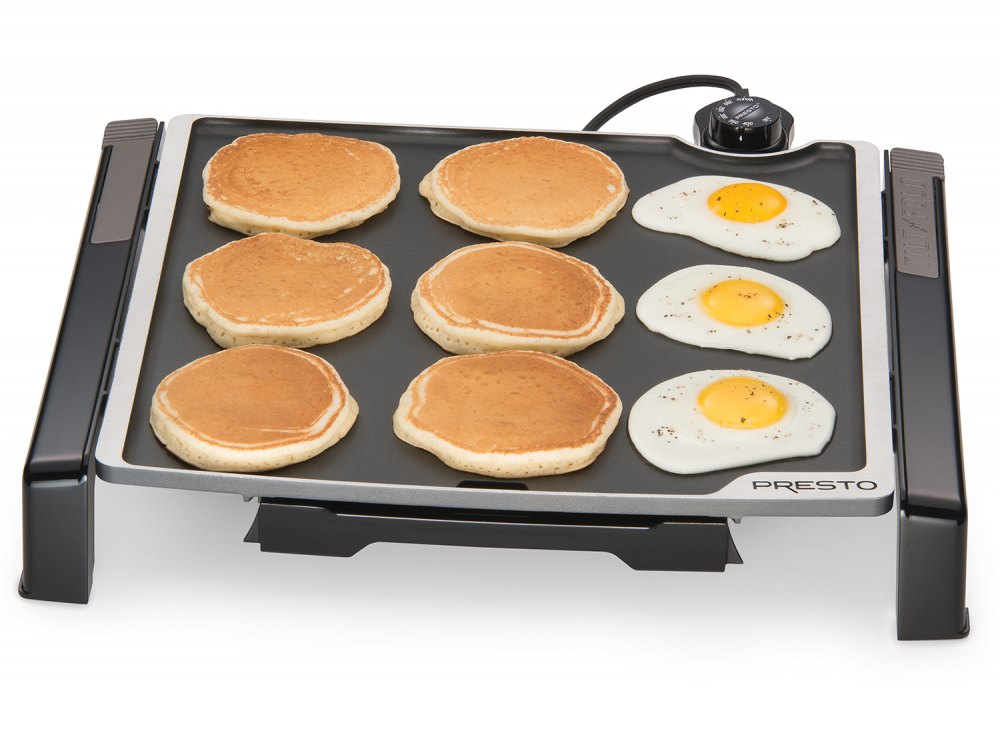 Family-size Electric Tilt-n-Fold™ Griddle