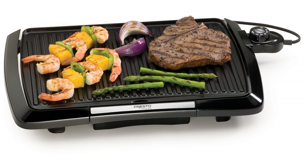 Cool-touch Electric Indoor Grill