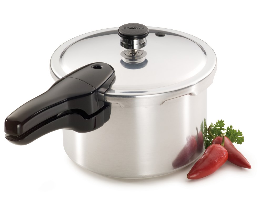 4-quart Aluminum Pressure Cooker