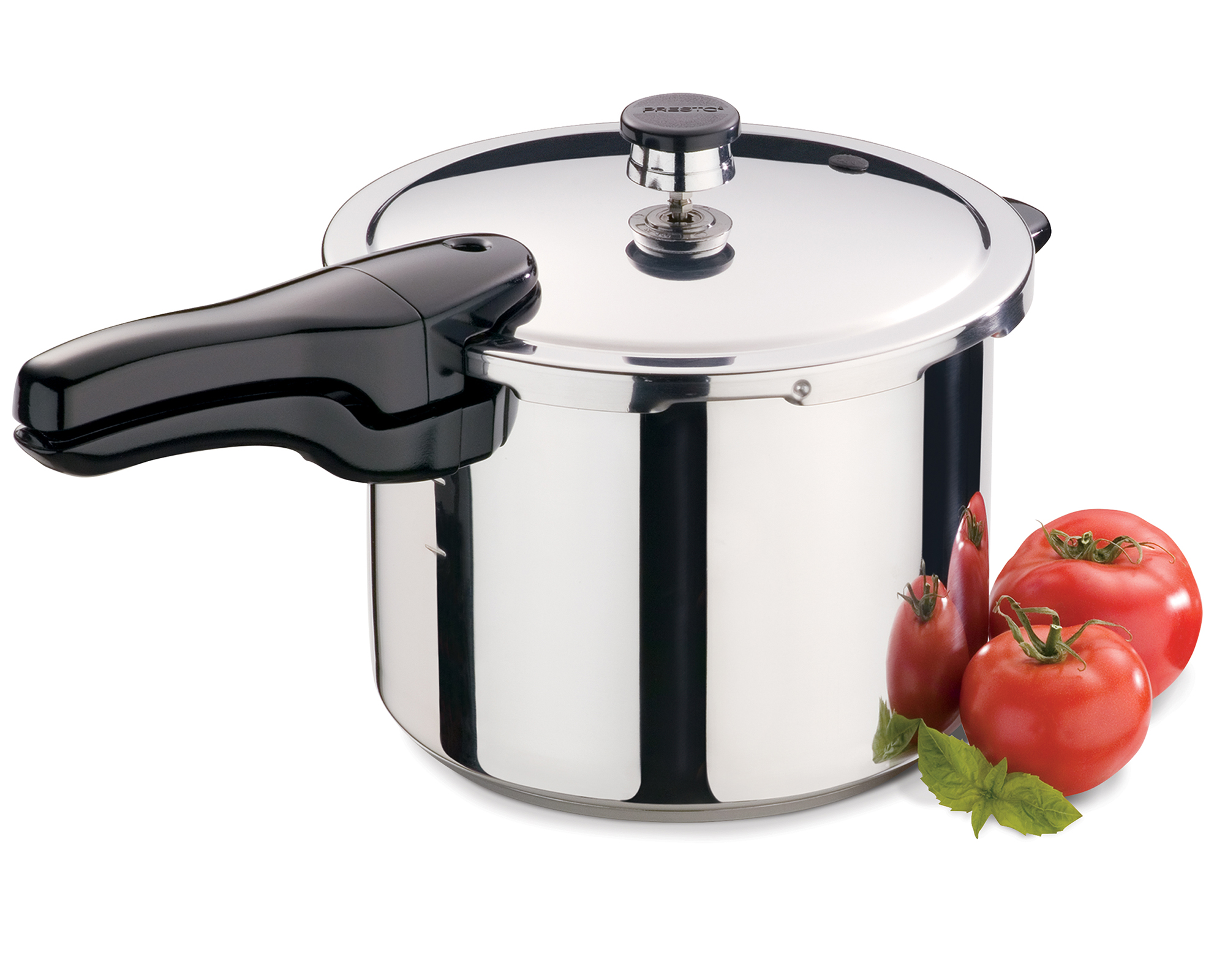 6 quart stainless steel pressure cooker pressure cookers presto. Black Bedroom Furniture Sets. Home Design Ideas