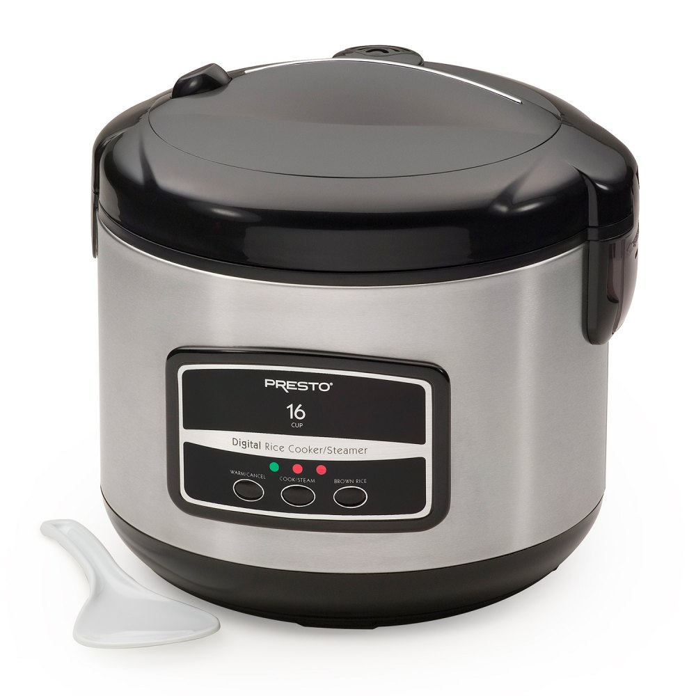 16-Cup Digital Rice Cooker and Steamer