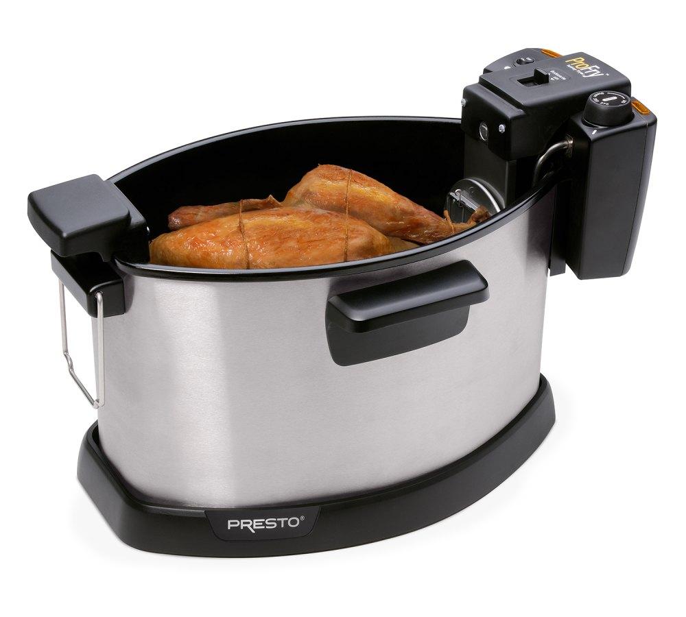 ProFry™ Electric Rotisserie Turkey Fryer