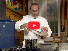 Making Stock (Chicken Stock) with Chef Paul Miller