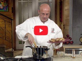 Chicken with Almonds and Raisins with Chef Marty Cosgrove