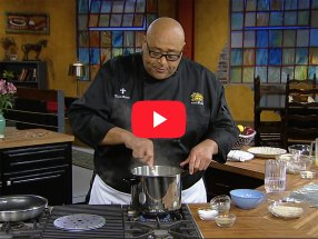 Shrimp and Asparagus Risotto with Chef Kevin Belton