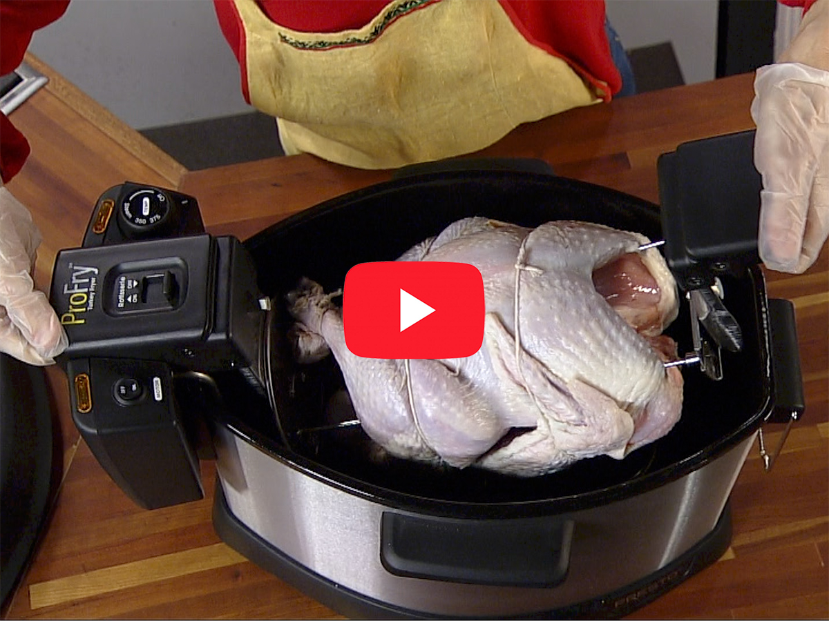 How To Cook A Turkey With The Presto 174 Profry Electric
