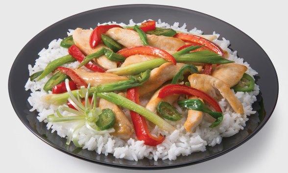Spicy Chicken Stir Fry
