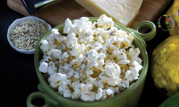 Cheesy Popcorn Italiano