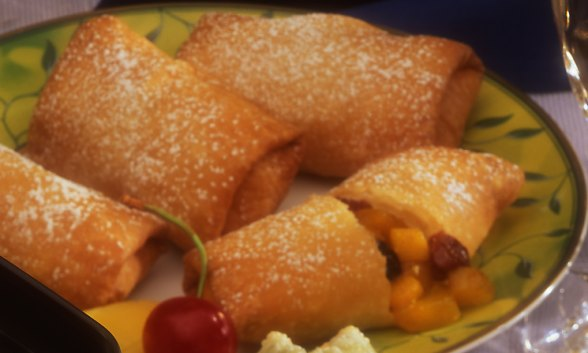 Double Mango Chimichangas