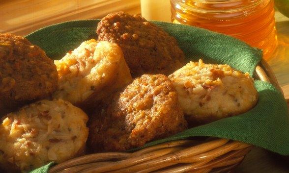 Snowy Pear Muffins