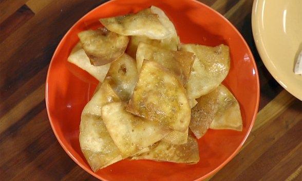 Homemade Tortilla Crisps